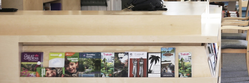 Reception Desk manufacture cornwall